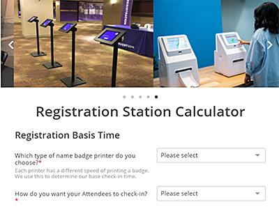 Registration Station Calculator
